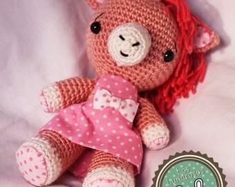 Mari Cielo the Unicorn (amigurumi) Plush crochet