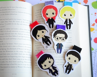 Shadowhunters Magnetic Bookmarks