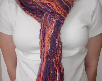 Fringed Yarn Scarf