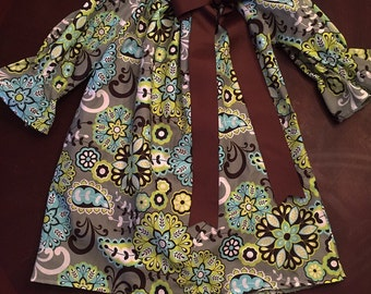 Custom boutique peasant shirt or dress