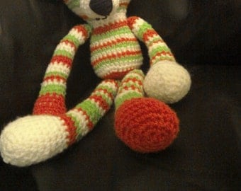 Pheobe The Amigurumi Soft Toy Monkey