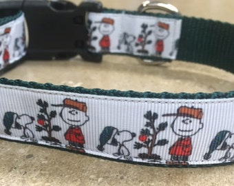 Charlie Brown Christmas Collar