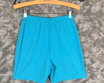 60's High Waisted Turquoise Shorts