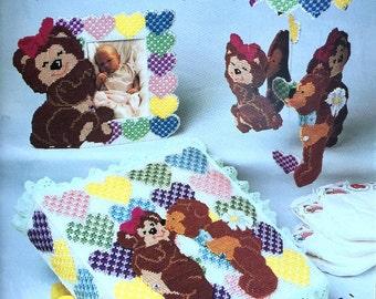 Annie's Attic Huggy Kissy Bears Nursery Pattern by Sandi Tucker #87H75