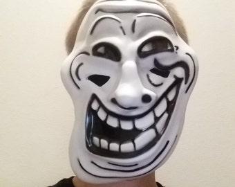 Troll Face Meme Mask
