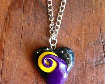 Handmade Nightmare Before Christmas Inspired Necklace