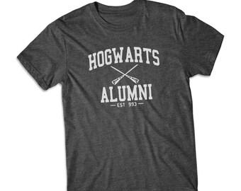 Hogwarts Alumni Harry Potter shirt short Sleeve tshirt