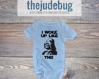 Darth Vader Onesie® | I Woke Up Like This Onesie® |  Star Wars Onesie®
