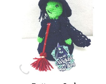 NEW! Wicked Witch Crocheted Doll-Pattern Only!
