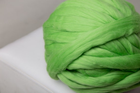 Natural Merino Wool Roving 23 Microns 1 Kg Super By