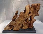Driftwood art, Driftwood home decor, Decorative wood sculpture