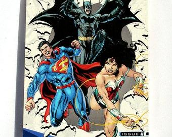 Batman, Superman, Wonder Woman Comic Book Journal