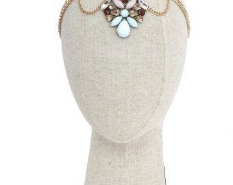 Bridesmaid Headpiece // Boho Headpiece // Bridal Headpiece // Festival Headpiece // Formal Headpiece