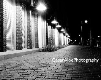Shades and lights photography,instant download photography,black and white photography,monochromatic photo,lamps picture,Celebration Florida