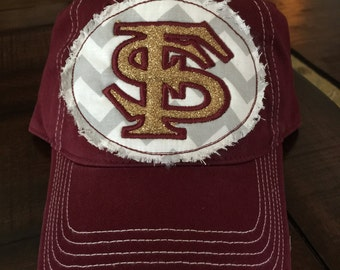 Florida State Bling Patch Hat
