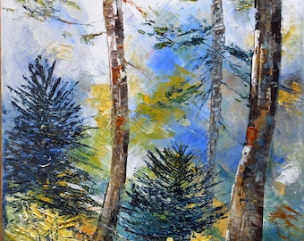 """Painting  """" In the forest """""""