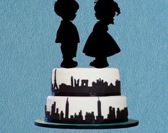 Mr And Mrs Cake Topperbatman Cake Toppercustom Batman Cake