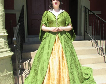 Tudor Victorian Steampunk Gown