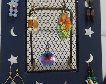 Let the Galaxy surround your earrings!