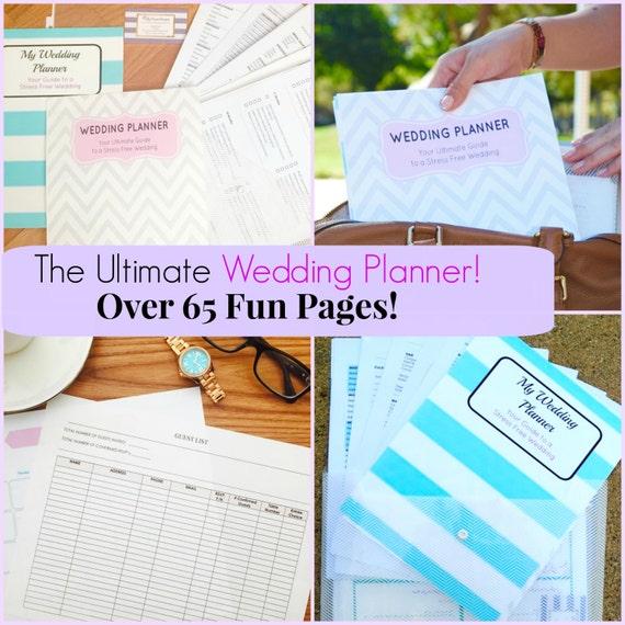 Wedding Planner Gift Set : Wedding Planner Organizer Kit + Extras! Wedding Gift, Wedding Timeline ...