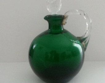 Murano bottle in blow glass