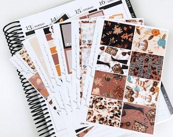 Wild for Fall Sticker Kit (Glam Planner Stickers for Erin Condren Life Planner)