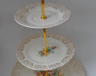 3 tier cupcake/cake stand