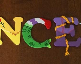 Princess Custom Letters - 4 inch