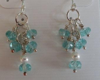 Aquamarine Earrings  -  #286