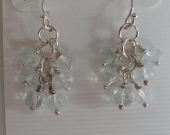 Aquamarine Earrings  -   #291