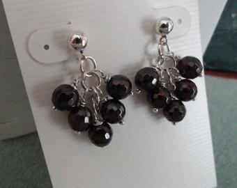 Garnet Earrings  -  #316