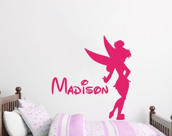 Name Wall Decal Baby Minnie Mouse Vinyl Decals Sticker Custom - Custom vinyl wall decals disney