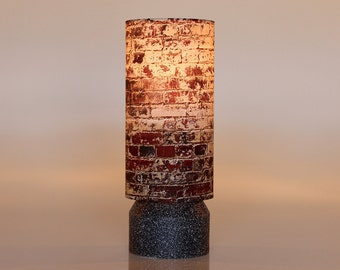 "Table lamps perfect for your favorite desk lamp or anywhere you need design,light and style! ""Brick city"" Art lamp, Accent lamp,  NYC Art"