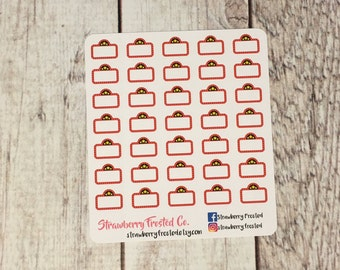 MINI SIZE Movie Marquee Planner Stickers -