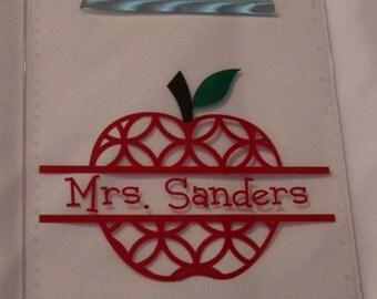 Personalized Teacher Clipboard, Decorative Clipboard, Teacher Appreciation, Teacher Gift