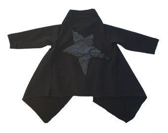 So Rockstar Coat Black