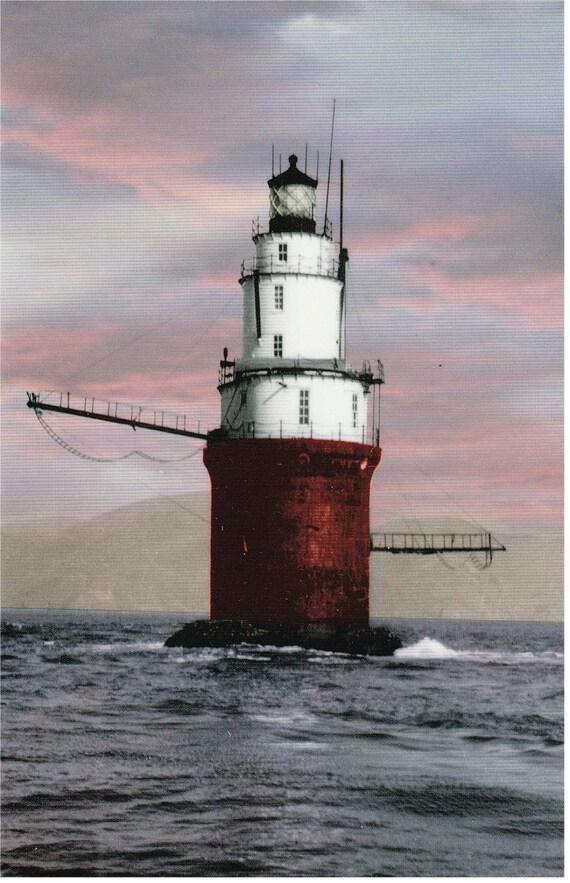Calif. - Mile Rocks Lighthouse - Postcard