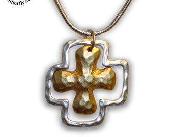 Celtic or Red Baron Cross Pendant
