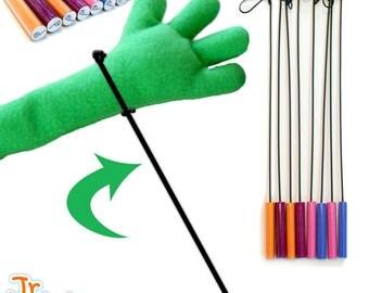 Jr. Rods™ Puppet Arm Rods Pair - Chose your color!