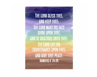 Numbers 6:24-26 Blessing