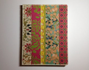 Deconstructed Journal 'Boho Vintage Floral'