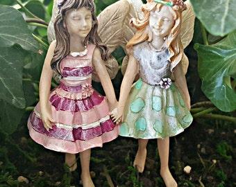 Miniature Fairies Addie & Maddie