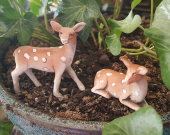 Miniature Fawn - Lying Down