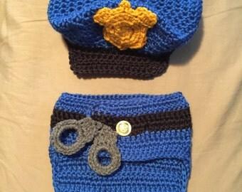 Police Diaper Set