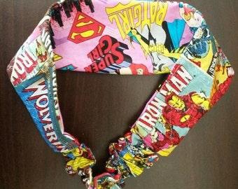 Marvel DC reversible headband