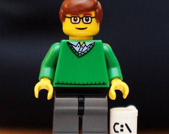 Bill Gates / founder of Microsoft - exclusive minifigure