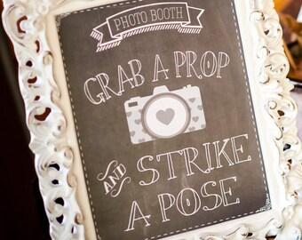Chalkboard Photobooth Printable