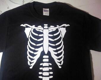 skeleton tee-shirt