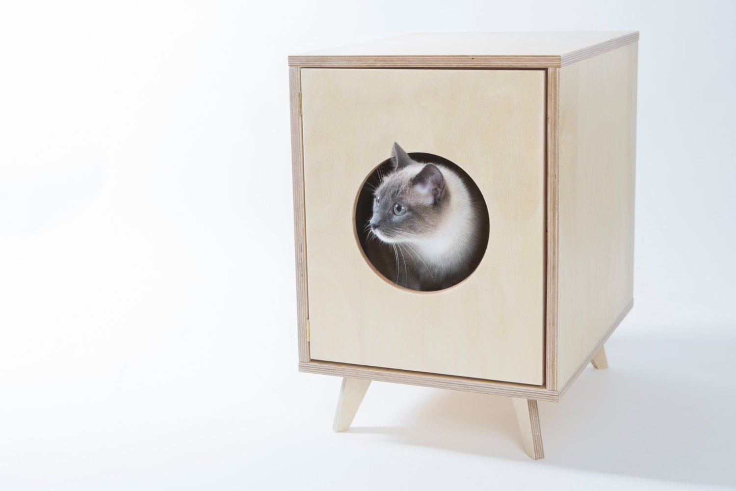 Cat Litter Box Cover Pet House Juno