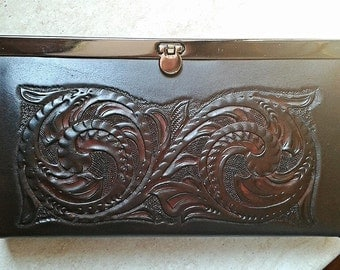 Ladies leather wallet-Woman Wallet